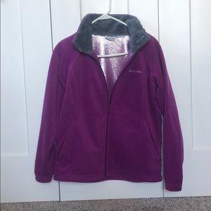 Columbia Fleece Purple